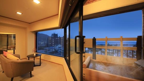 露天風呂付和室(お部屋食専用)【62平米/WiFi/禁煙】