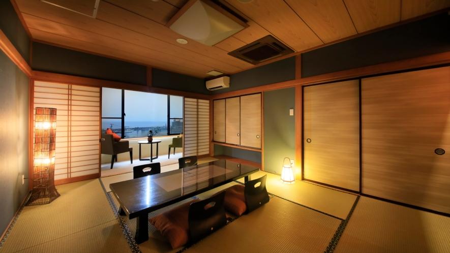 【露天風呂付和室】のんびりできる和室