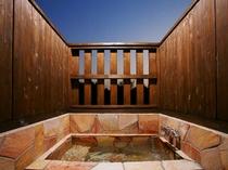 スイートルーム専用 客室露天風呂