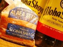 ハワイ料理に欠かせない調味料「ALAEA SEA SALT」