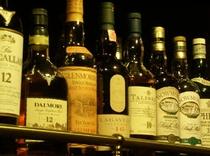 【BAR WAVE】スコッチウイスキーの数々