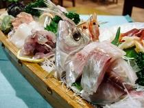新鮮地魚のお刺身盛合せ