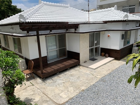 《一棟貸切タイプ》素泊まり 沖縄古民家一棟貸 お得プラン♪
