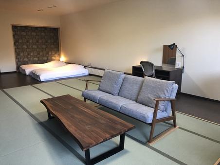 露天風呂・檜内風呂付き客室【和室1〜3名】