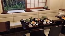 【日替わり夕食】4名様例