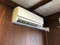 エアコンは2基