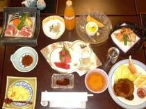 お子様の夕食例