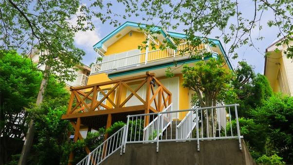 【赤沢A-32-2】ペットと泊まれる温泉付2階建て貸別荘