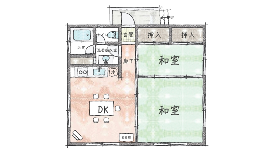 【伊豆スカイライン25】間取り図
