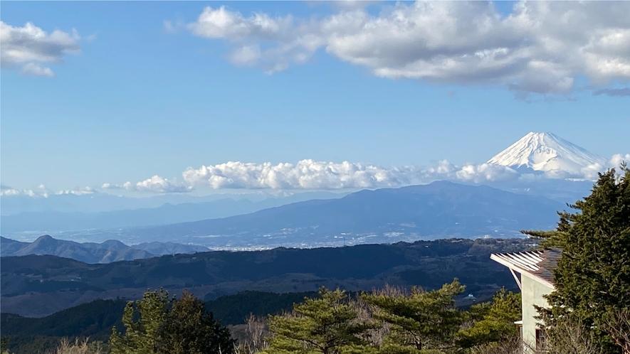 【伊豆スカイライン196-1】眺望・富士山