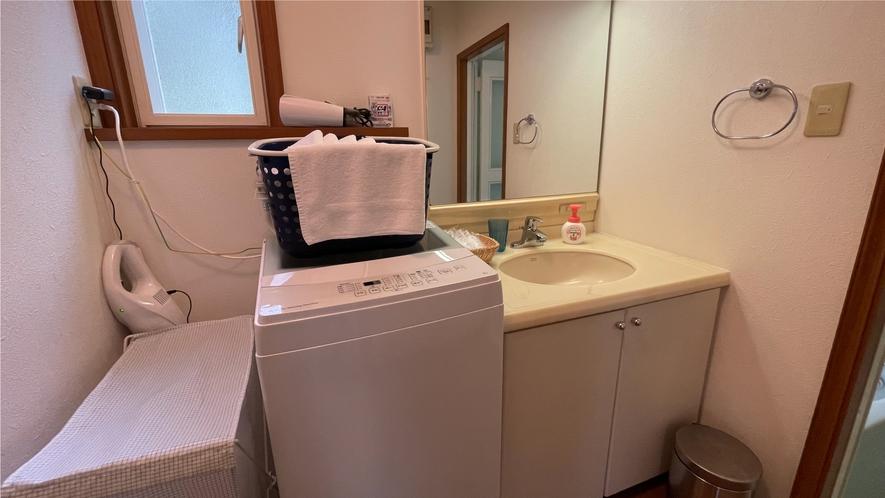 【伊豆スカイライン987】洗面所・洗濯機