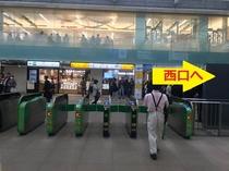 JR蒲田駅からのアクセス(1)