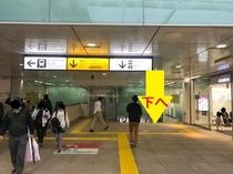 JR蒲田駅からのアクセス(2)