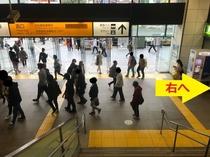 JR蒲田駅からのアクセス(3)