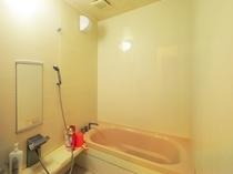 【共同】1階共同浴室。洋室ツイン1Fバス・トイレなしのお部屋のお客様はこちらをお使いください。