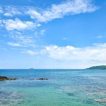 *【女湯大浴場からの眺め】お天気の良い日は綺麗な海を眺めながらご入浴いただけます♪