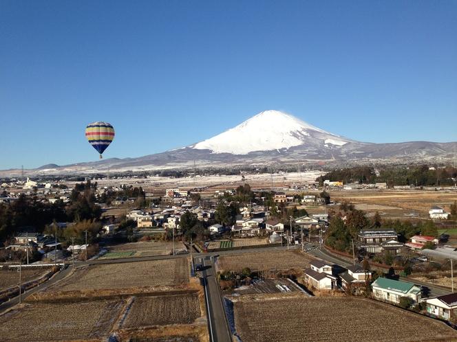 熱気球フリーフライト体験(冬季限定アクティビティ)
