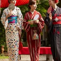 鎌倉駅周辺に着物レンタルあり