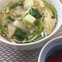 お食事例(玄米スープ)