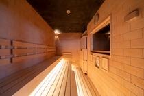 【天然温泉大浴場◆男性専用高温サウナ】(約96℃)