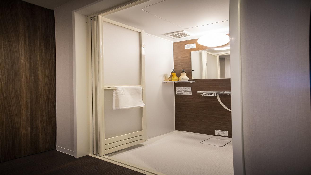 ■シャワーブース(スーペリアツインルーム)