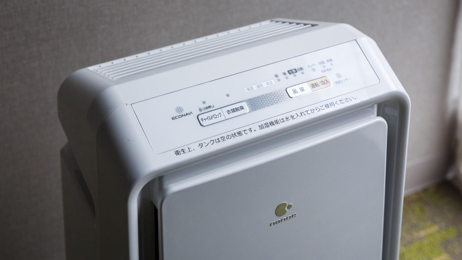 加湿空気清浄機(全客室)