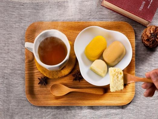 【ハコビバコラボ/素泊り】メルチーズでおなじみの『プティ・メルヴィーユ』スイーツ&カフェセットプラン