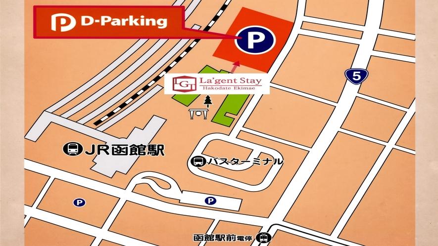 D-Parking地図