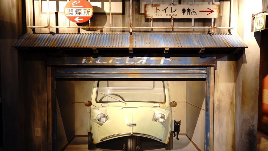 ハコビバ「函館駅前横丁」の内観