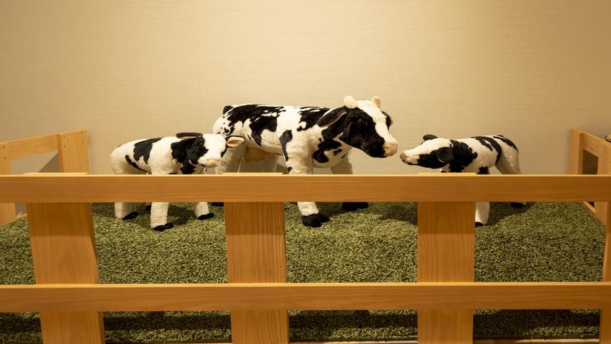 プレガロでは牛を飼ってます