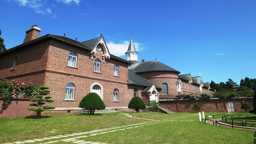トラピスチヌ修道院(湯の川の奥静かな森の中に立地する女子修道院)