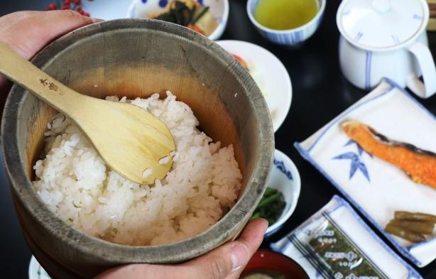 【朝食付】最終チェックイン 21時まで可能♪温泉水で炊いた ほかほかご飯と高原野菜の和朝食!