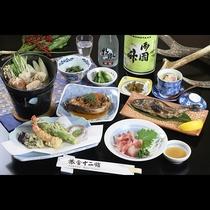 【夕食】全体の一例