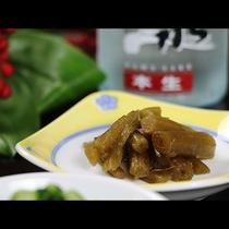 【夕食】山菜料理