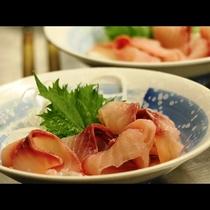 【夕食】鯉のあらい