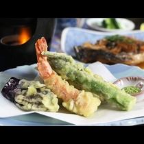 【夕食】サクサク天ぷら