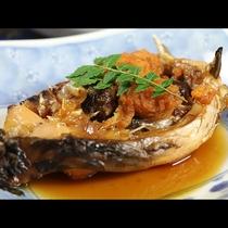 【夕食】鯉のうま煮