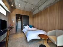 【客室】シュガーダブルルーム 23.8㎡ 室内装は3種類(お選びいただけません)