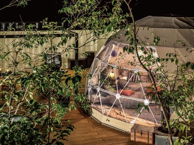 ドーム型テント 6M