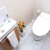 【温水洗浄便座付きトイレ】デラックスルーム、和室、西方館スーペリアツイン