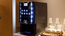 コーヒーマシン コーヒーやココアなどのホットドリンクをお楽しみください(ご宿泊のお客様限定)