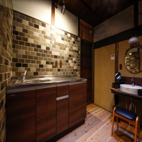 ◆翡翠(ひすい)キッチンスペース◆ご家族連れでも安心して利用頂けるスペースでございます