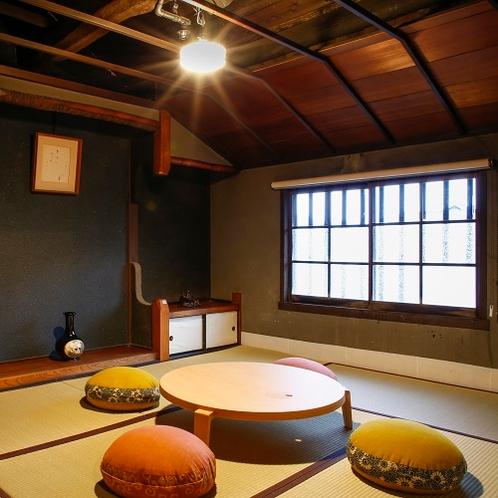 ◆萌黄(もえぎ)和室◆お部屋の窓からご覧頂ける町並みにとけ込むような滞在の出来る客室です