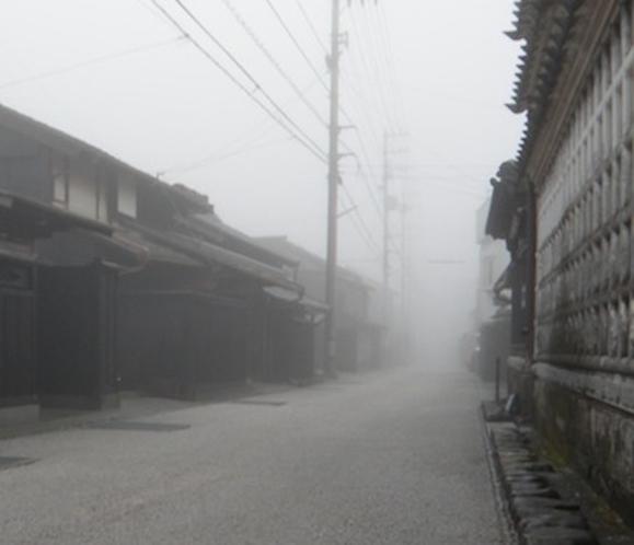 吉良川町 町並み