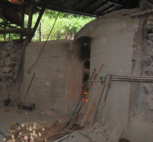 吉良川町 炭窯
