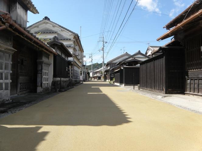 重要伝統的建造物群保存地区 吉良川町の町並み