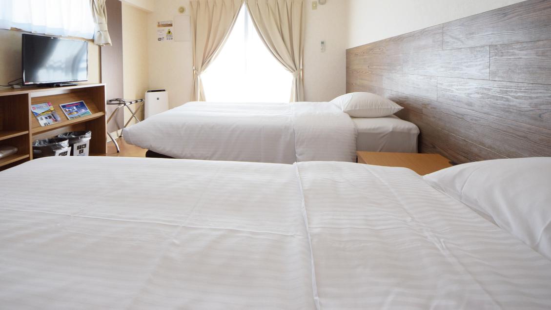 【ツインルーム】ベッド