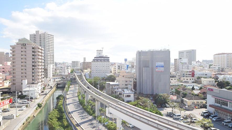 ツインルームからの眺望 STAY IN SUMUKA 国際通り