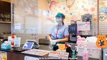 感染症対策⑤ カフェのパーテーション