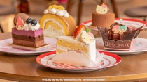 キャラクターのケーキ/キャラクターズカフェ(1F)
